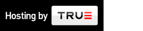 logo true.nl - Hosting by TRUE landscape on dark background