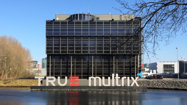 Kantoor van True, Multrix en S2B op de Keienbergweg 100 in Amsterdam