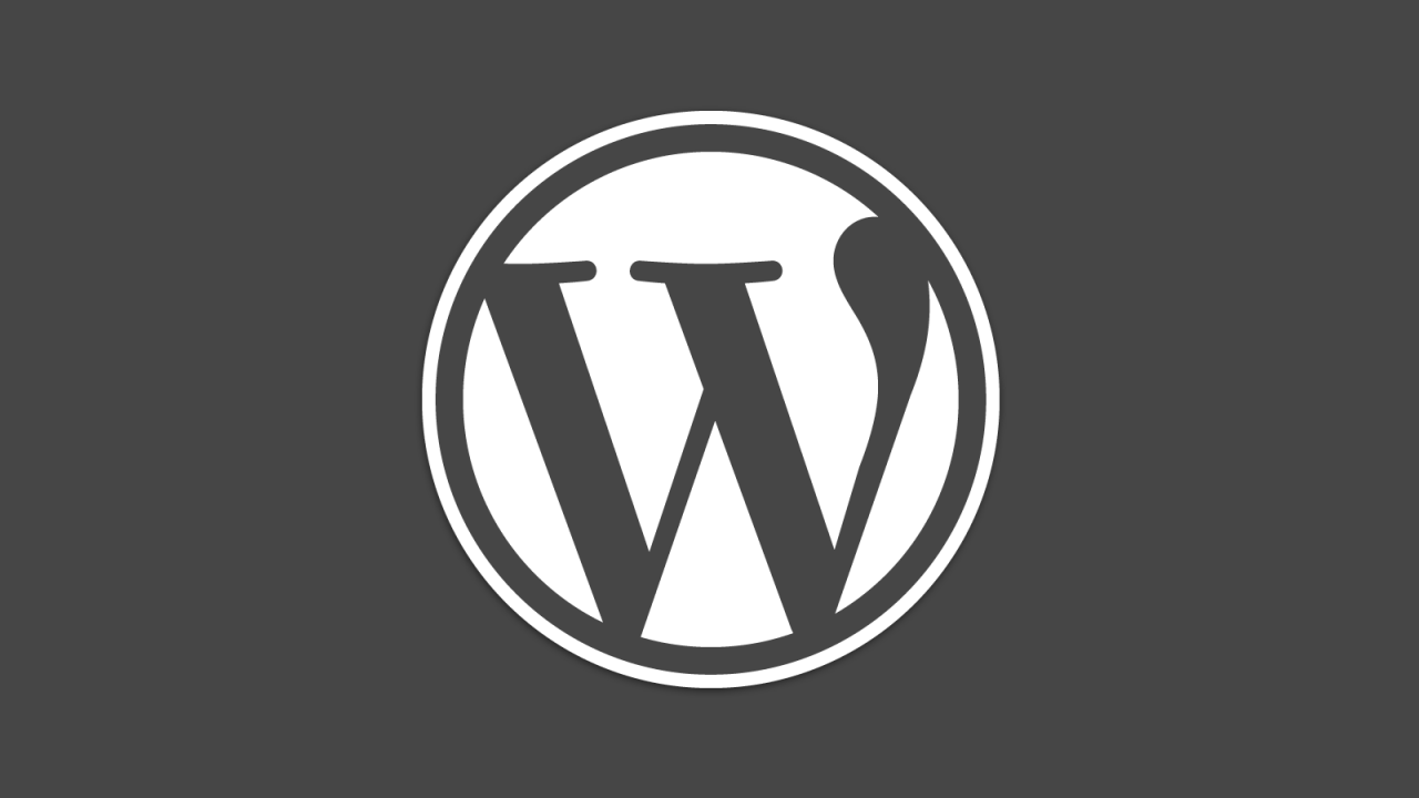 Wordpress 4.7