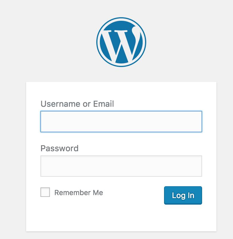 Inloggen op WordPress