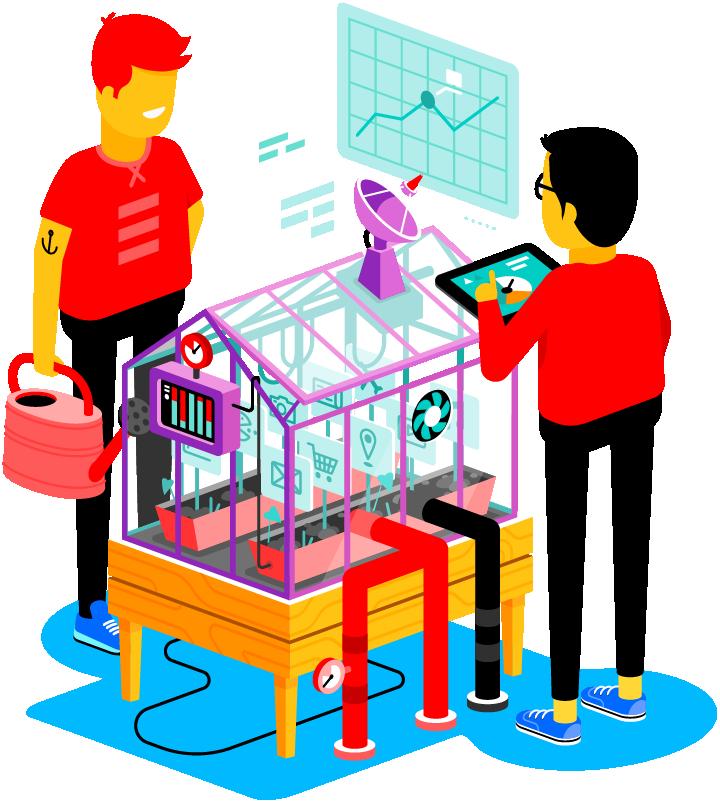 True is expert in het optimaliseren van software en middleware.