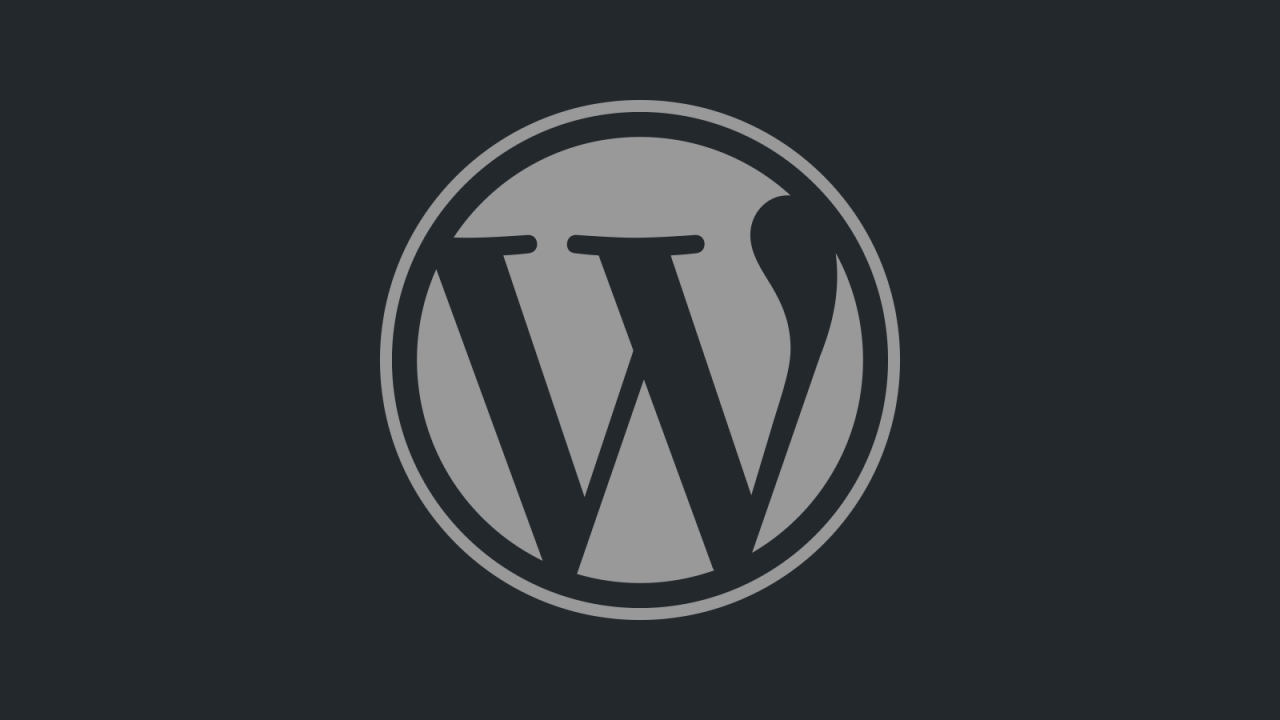 Wordpress update 4.7.2