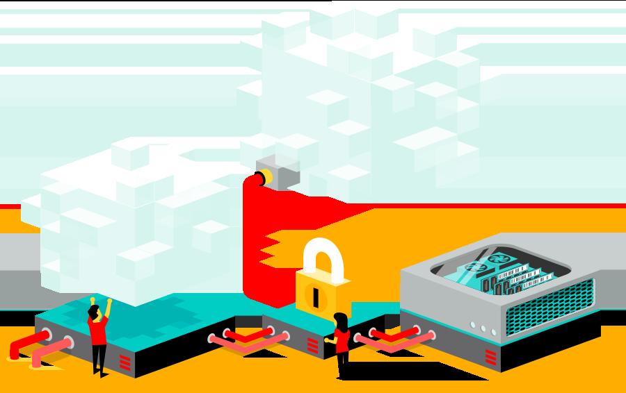 Hybrid Cloud voor online werkplekken