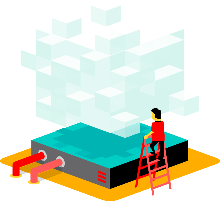 Private Cloud voor online werkplekken