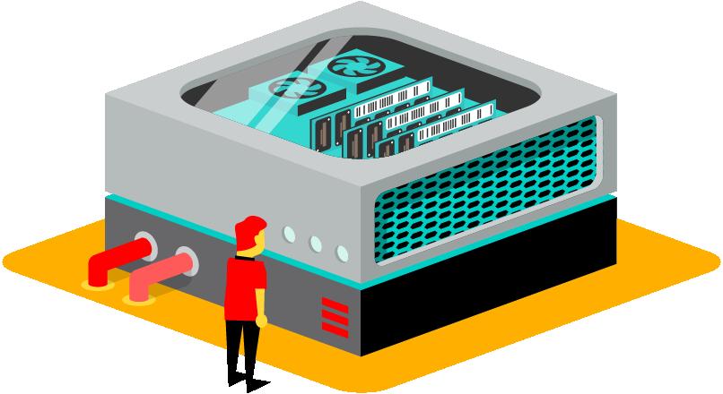 Dedicated Server voor online werkplekken