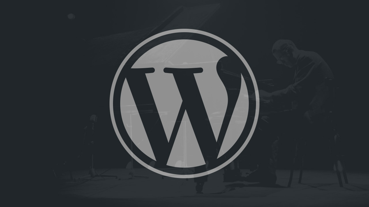 Wordpress update 4.8 Evans