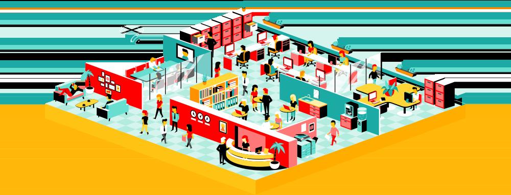 Managed enterprise hosting layer