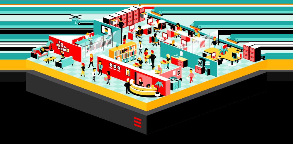 Managed enterprise hosting solution