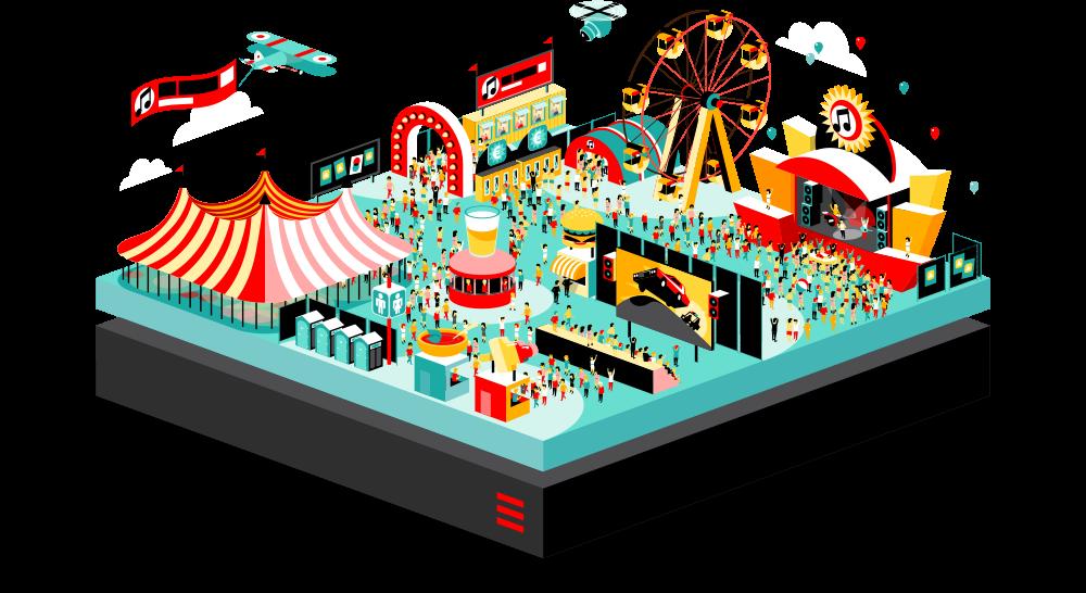 Managed event hosting solution