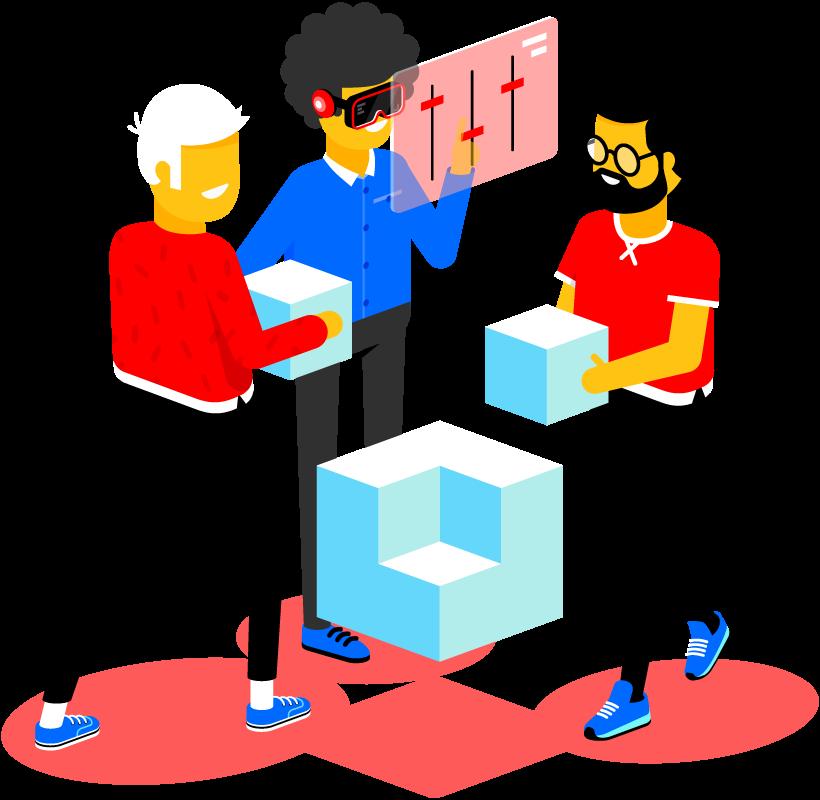 Flexibile schaalbaarheid voor workspaces
