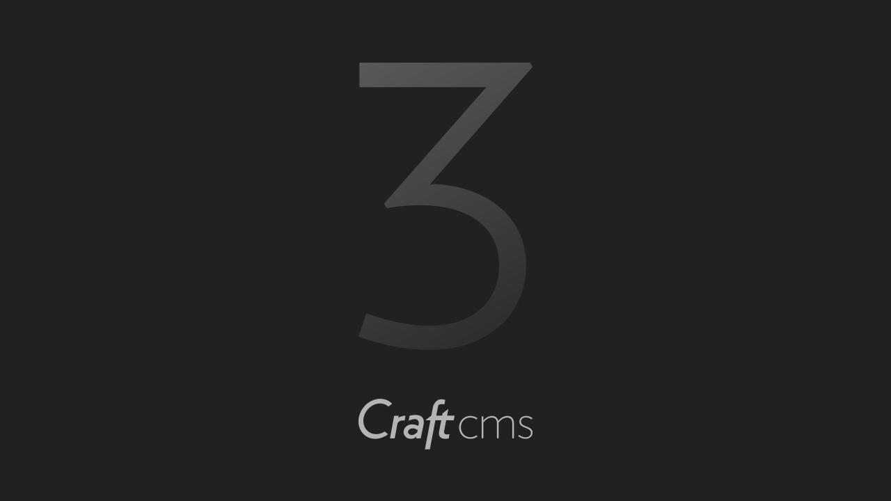 Craft CMS 3 is eindelijk hier. Wat is er nieuw?
