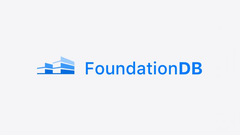 FoundationDB open source project van Apple