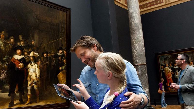 Rijksmuseum app door Fabrique