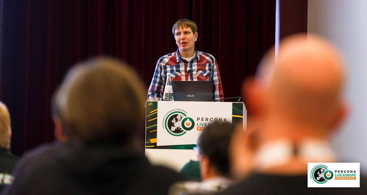 Percona Live Europe oprichter Peter Zaitsev aan het woord
