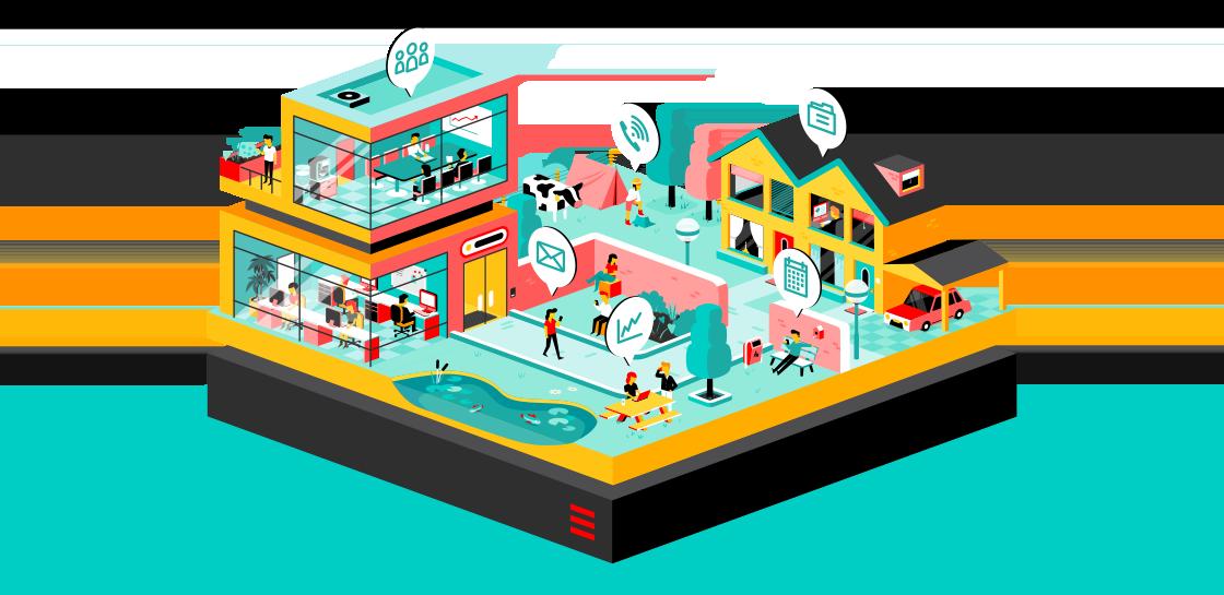 Workspace: online werkplekken