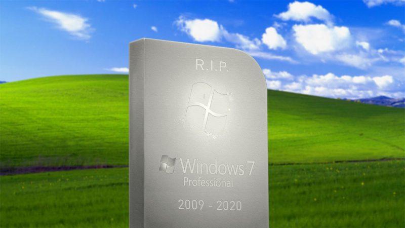 windows 7 einde support op 14 januari 2020