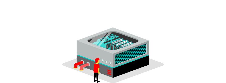 webhosting op een dedicated server