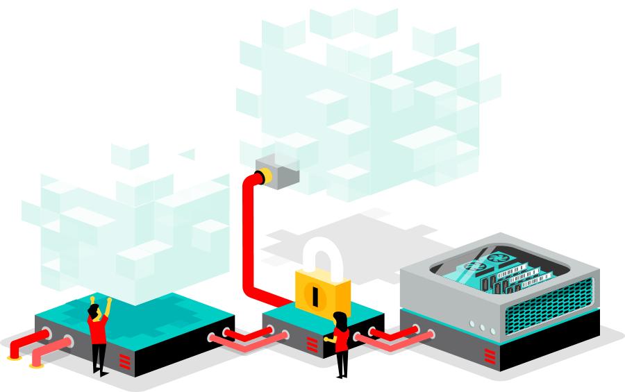 Flexibele webhosting op een hybrid cloud