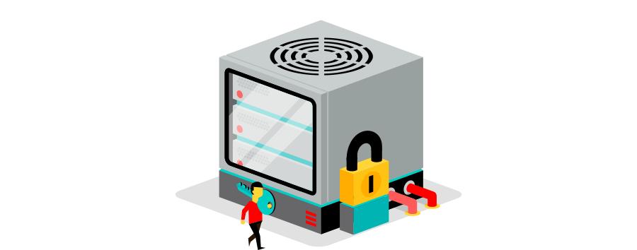 Jouw eigen servers afgeschermd in een private colocatie