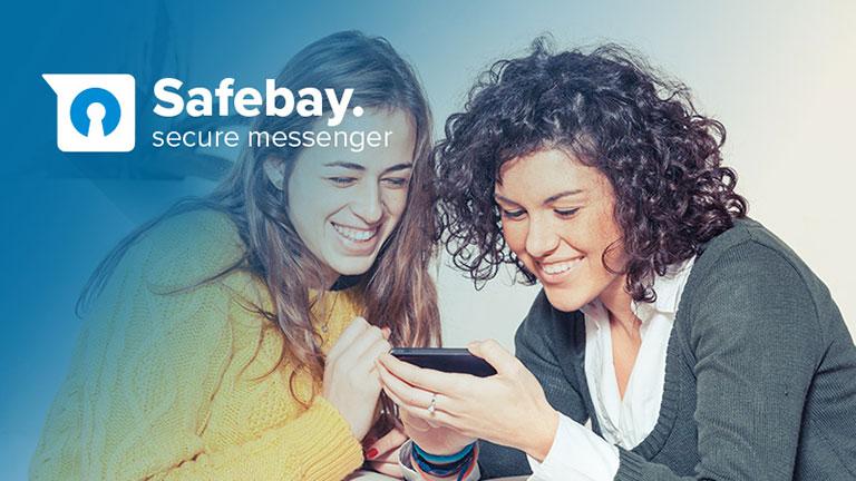 User Interface en User Experience voor chatapplicatie Safebay
