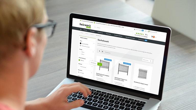 Magento 2 webshop design voor hekwerkonline.nl