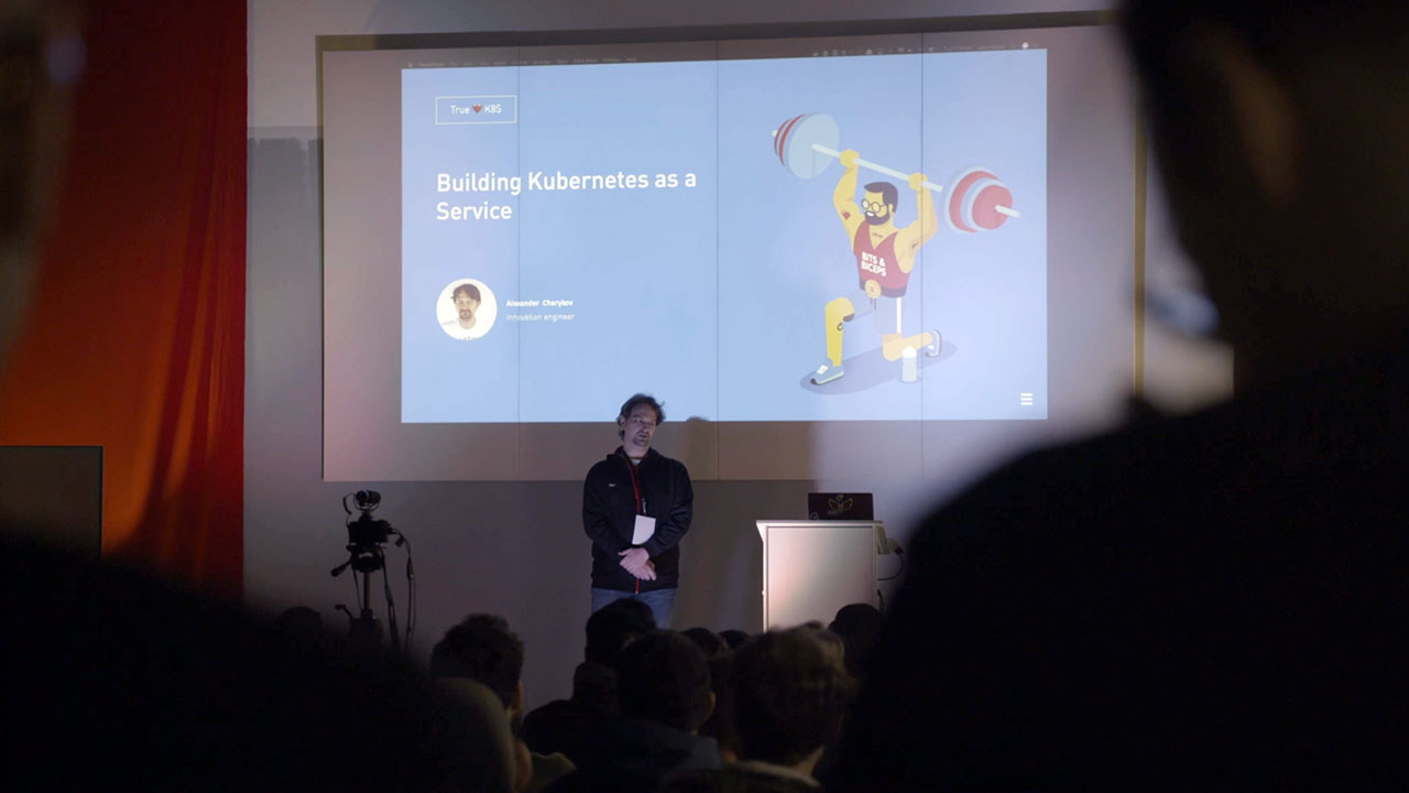 Building Kubernetes as a Service Alexander Charykov