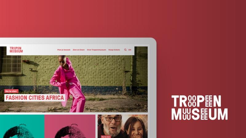 website en platform voor het Tropenmuseum