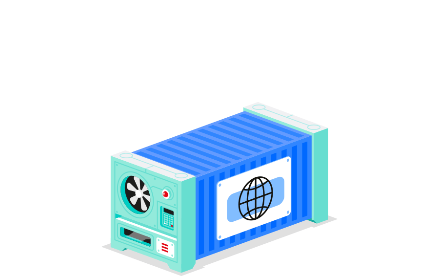 Kubernetes containers managed hosting