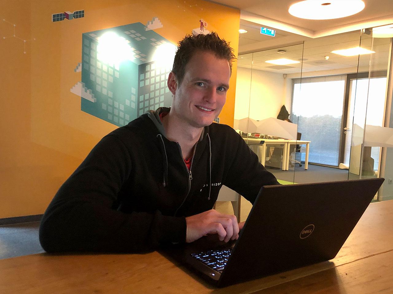 Dave de Rooij is Project Engineer bij True Workspace Zuid
