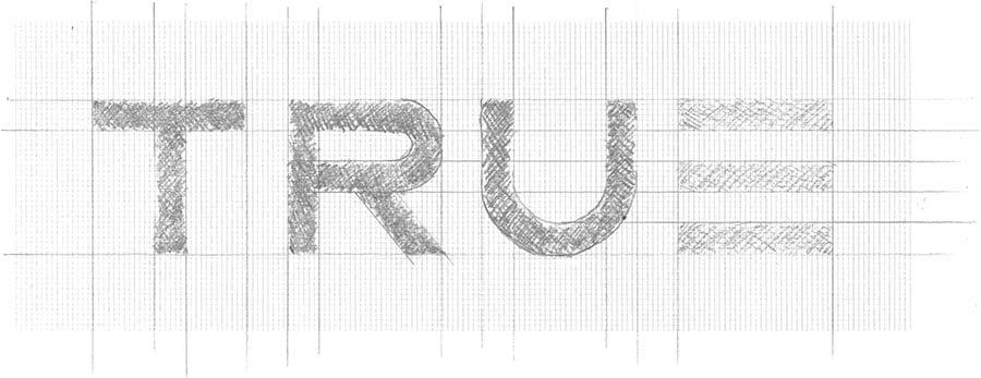 Over True logo-gebruik