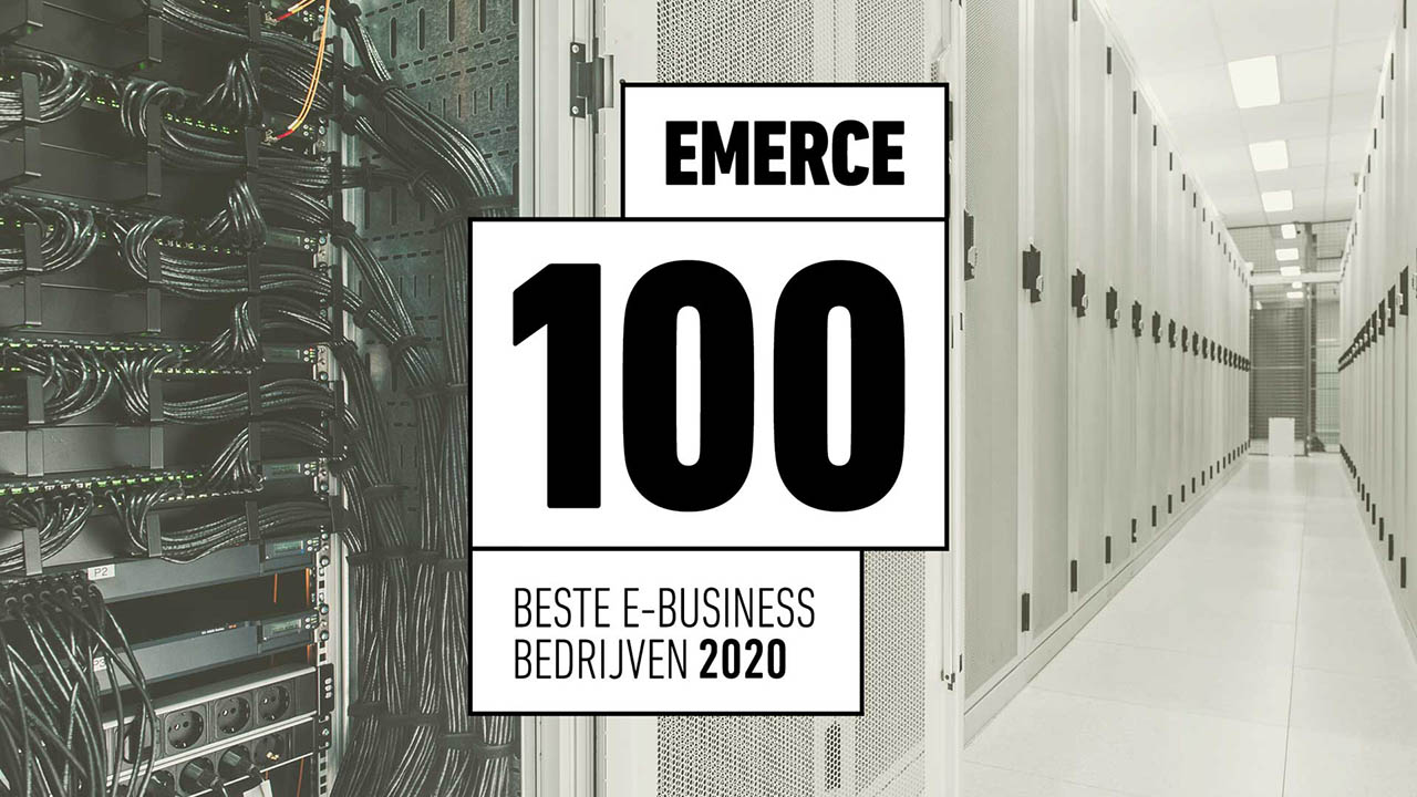 True op nummer 1 in categorie hosting Emerce 100