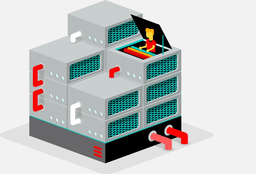 virtuele server van true