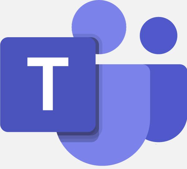 Het logo van Microsoft Teams