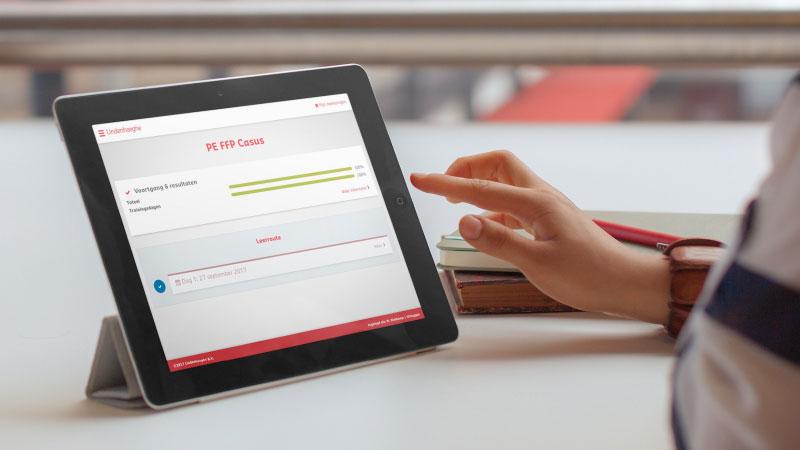 E-Learning omgeving studiemateriaal cursisten - Dolphiq case