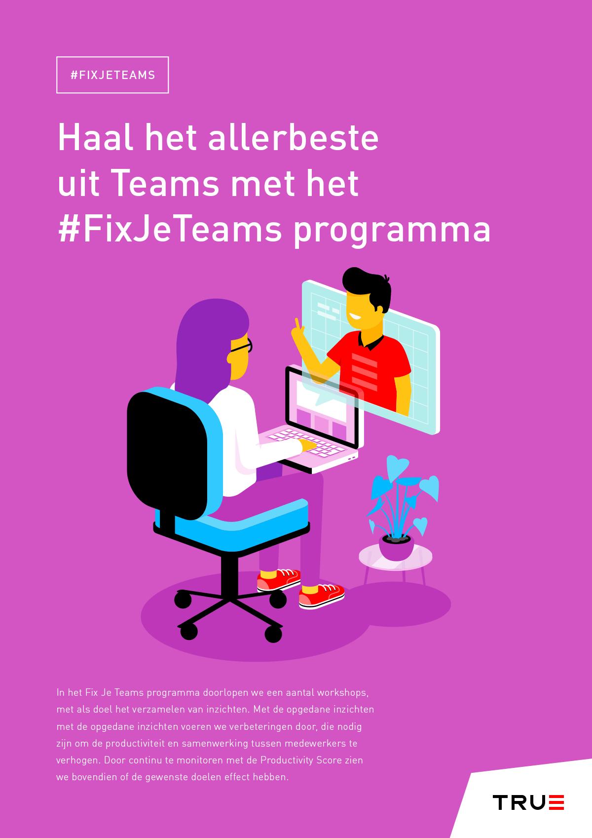 #fixjeteams productsheet - Microsoft Teams