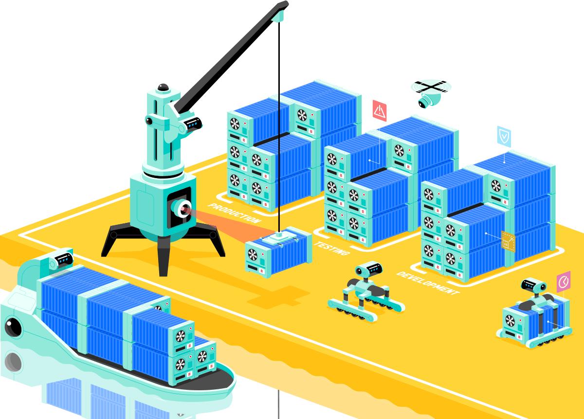 Kubernetes container orkestratie cloud-native applicaties